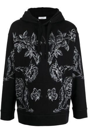 VALENTINO Floral print hoodie