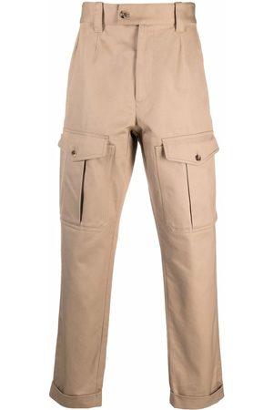 Alexander McQueen Cargo pockets straight trousers - Neutrals