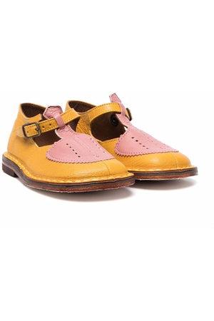 PèPè Two-tone buckle shoes