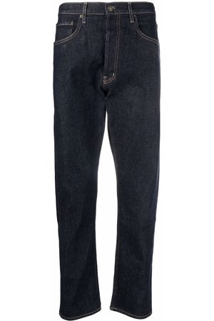 haikure Dark-wash straight-leg jeans