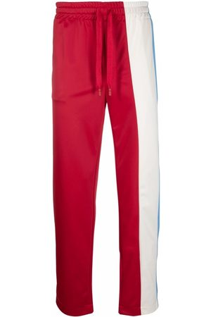 Dolce & Gabbana Men Sweatpants - Colour-block track pants