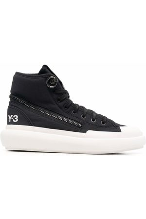 Y-3 Women Sneakers - High-top lace-up sneakers