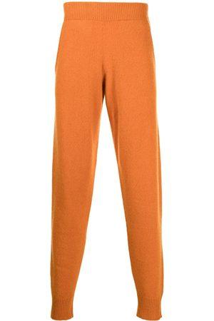 THE ELDER STATESMAN Heavy cashmere track trousers