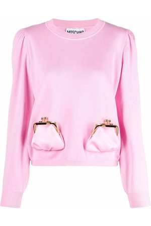 Moschino Archive purses knitted pullover