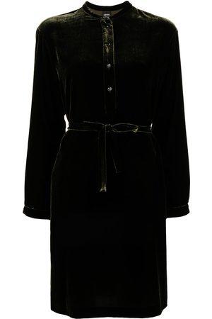 Aspesi Velvet shirt dress