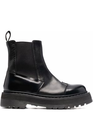 Premiata Chunky leather Chelsea boots