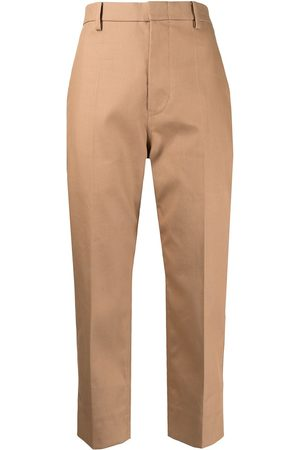SOFIE D'HOORE Cropped straight-leg trousers