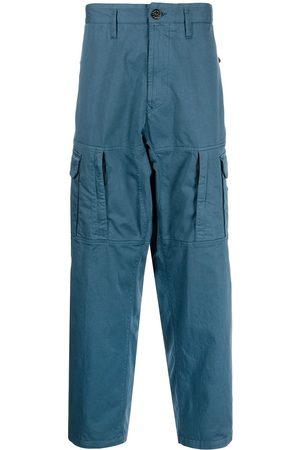 Stone Island Wide-leg cargo trousers