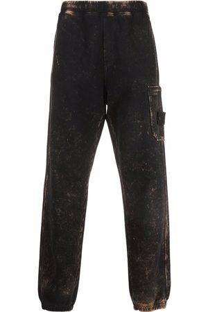 Stone Island Straight-leg bleached trousers