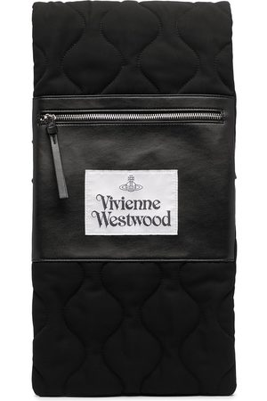 Vivienne Westwood Quilted logo patch scarf
