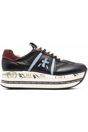 Premiata Beth platform leather sneakers