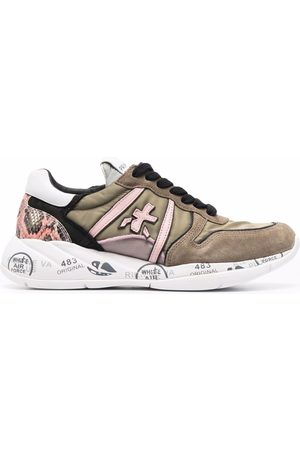 Premiata Layla low-top leather sneakers