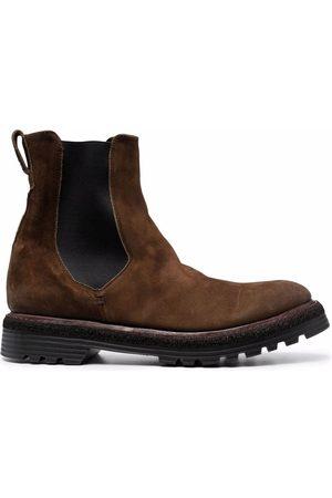 Premiata Ridged-sole Chelsea boots
