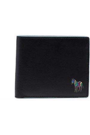 Paul Smith Zebra logo leather wallet