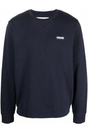 Coach Logo-patch cotton jumper