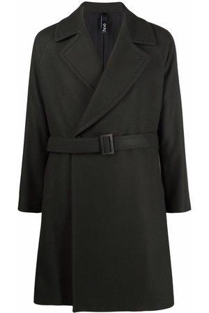 HEVO Belted wool coat
