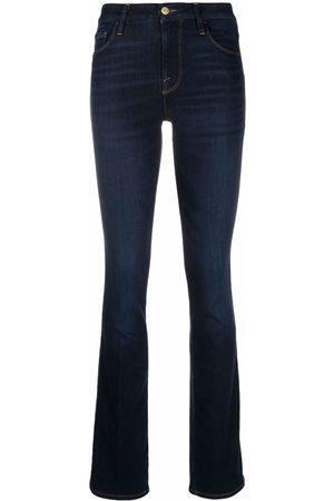 Frame High-rise flared leg jeans