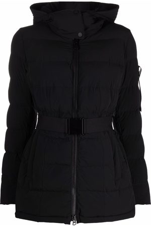 Peutery Belted-waist padded coat