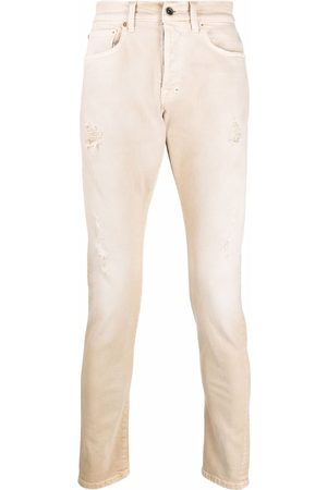 PRPS Skinny-cut washed jeans - Neutrals
