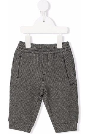 Emporio Armani Elasticated track pants - Grey