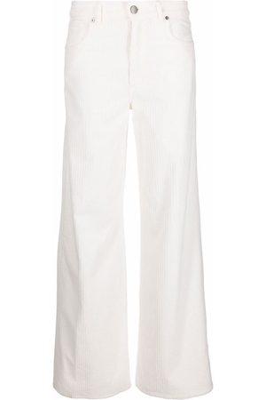 PT05 Logo-patch wide-leg trousers