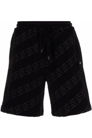Fendi FF-print sweat shorts
