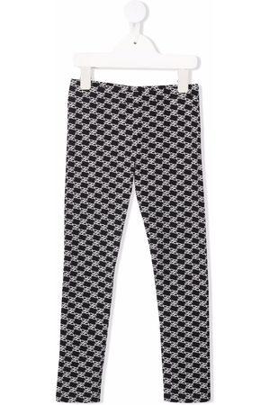 Fendi FF motif-print leggings