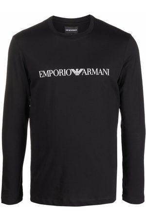 Emporio Armani Logo-print long-sleeve T-shirt