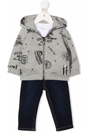 Levi's Sets - 3 piece logo-print trouser set - Grey