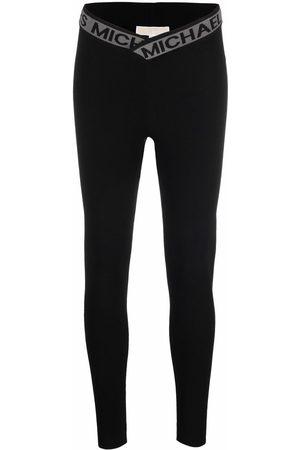 Michael Kors Logo-waist high-waisted leggings