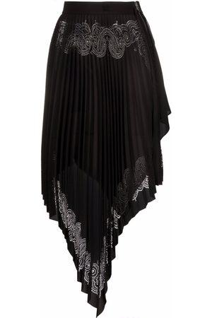 Givenchy Pleated asymmetric skirt