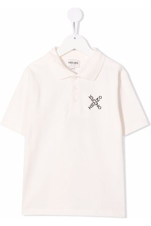 Kenzo Logo print polo shirt