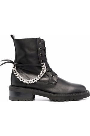 Via Roma Women Boots - Chain-link detail boots