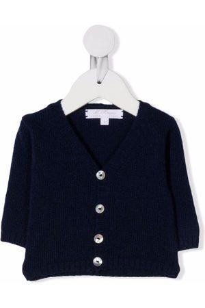 Mariella Ferrari Cardigans - V-neck cashmere cardigan