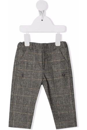 Tartine Et Chocolat Chinos - Plaid-check print trousers - Grey