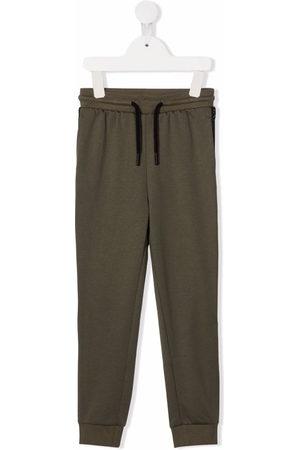 Calvin Klein Boys Sweatpants - Logo-tape drawstring track pants