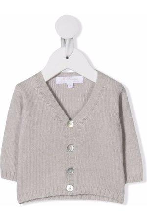 Mariella Ferrari Cardigans - V-neck cardigan - Grey