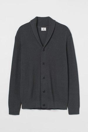 H&M Men Cardigans - Shawl-collar Cardigan