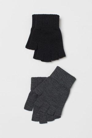 H&M Men Gloves - 2-pack Fingerless Gloves