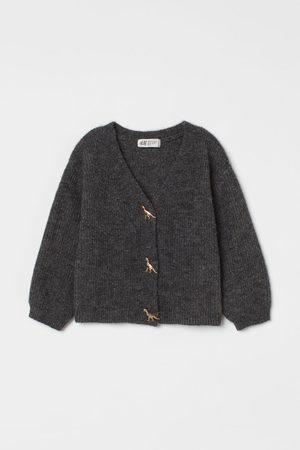 H&M Kids Cardigans - Knit Wool-blend Cardigan