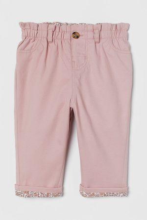 H&M Lined Paper-bag Pants