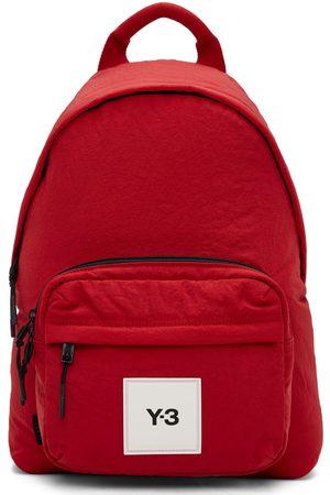 Y-3 Men Luggage - Red Techlite Tweak Backpack