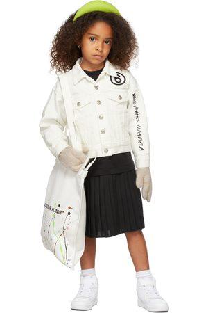 MM6 MAISON MARGIELA Kids Off-White Denim Jacket