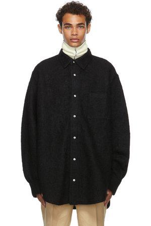 Jil Sander Black Brushed Shirt Jacket