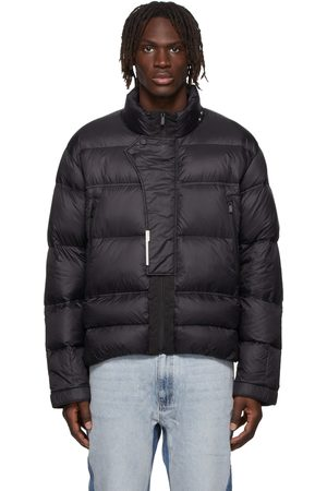 C2H4 Black Down Filtered Reality Puffer Jacket