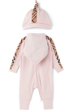 Burberry Baby Check Claude Bodysuit Set