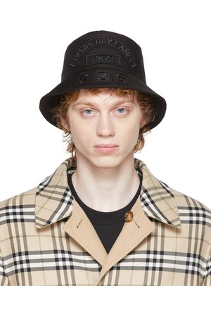 Burberry Logo Patch Bucket Hat
