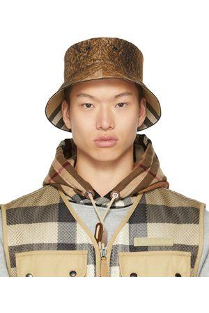 Burberry Fur Print Bucket Hat