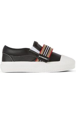Burberry Baby Icon Stripe Ben Slip-On Sneakers
