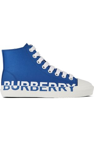 Burberry Kids Larkhall Logo High Sneakers